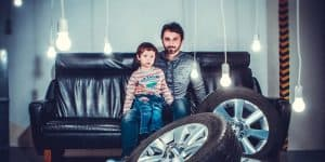 child father tyres