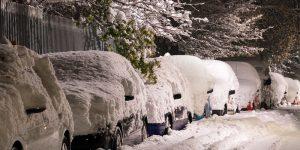 snow cars